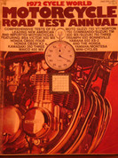 1972 Cycle World Road test annual