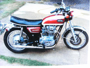 1972 Yamaha 650 XS2 with 3000miles from new