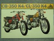 1973  Honda CB 350 K4 Honda CL 350 K4 brochure catalog