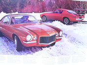 1973 Camaro Chevrolet  Z28 brochure catalog