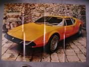 1973 Ford Pantera poster