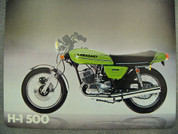 1973 Kawasaki H-1 500 green as new