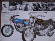 1974 Norton sales brochure catalog