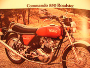 1975 Norton sales brochure catalog