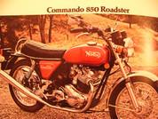 1975 Norton sales brochure catalog