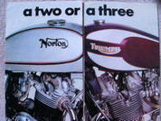 1975 Triumph T160 Trident vs. 850 Norton MK111 Commando