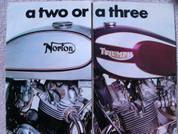 1975 Triumph T160 Trident vs. 850 Norton MK111 Commando