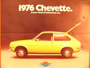 1976 Chevrolet Chevette deluxe dealer brochure catalog