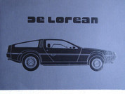 1981 De Lorean DMC Deluxe sales brochure