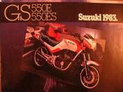 1983 Suzuki GS 550E Suzuki GS550ES for sale