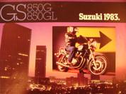 1983 Suzuki GS 850 Suzuki GS850GL