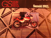 1983 Suzuki GS650 GS 650M Katana for sale