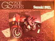 1983 Suzuki GS750E Suzuki GS 750ES