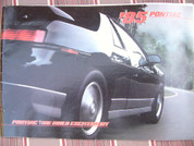 1985 Pontiac full model line sales brochure catalog