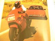1987 Ferrari Mondial vs. Ducati 750 Paso