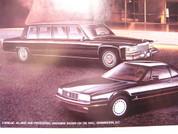 1988 Cadillac Allante DeVille Fleetwood Eldorado Seville Brougham Cimarron