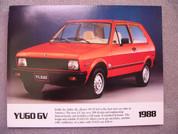 1988 Yugo GV