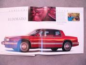 1989 Cadillac Allante Fleetwood DeVille Eldorado Seville Brougham
