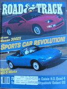 1990 Mazda Miata Nissan 300ZX,Ayrton Senna world champion1988