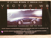 1992 Vector W8 super car