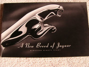 1998 Jaguar brochure catalog