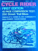 1st issue Cycle Rider may 1973 RARE!!!!!!!