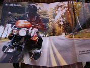 2004 BMW motorcycle full line poster 2 sides