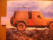 2004 Jeep Wrangler novelty brochure catalog