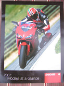 2007 Ducati full model line brochure catalog