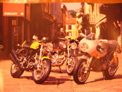 2008 Ducati  poster Sportclassic full line up