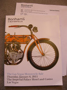 Bonhams 2011 Las Vegas Motorcycle Catalog
