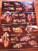 Ducati 2002 full line poster brochure