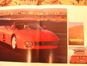 Ferrari F355 Spider and 348 sales brochure 1993