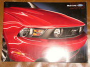 Ford Mustang 2010 sales brochure catalog