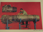General Electric T58 Turboshaft J85 Turbojet posters 1955