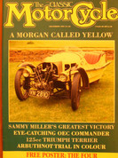 Gilera Saturno Triumph Terrier Morgan 3 wheeler