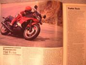 Kawasaki GPZ 750 Turbo motorcyle