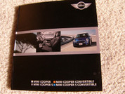 Mini Cooper 2006 sales brochure catalog