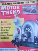 Mercedes 300SLR,Jag XKS,Ranchero,Rambler, Motor Trend April 1957