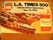 Nascar Ontario 1975 poster