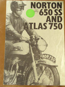 Norton 650SS Norton 750 Atlas