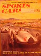 Pre war Auto Union 550 HP. race car history cover art