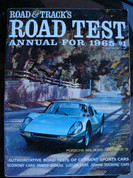Road and Track 1965 Road test annual