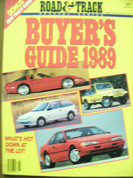 Road and Track Buyers Guide 1989 has Trucks also