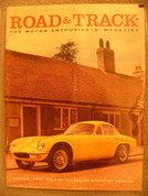 Austin Sprite,Lincoln , Borgward, Road and Track magazine August 1958