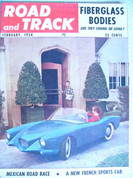 Dayna Panhard,Road and Track magazine February 1954