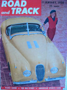 MGTF versus MGTD ,Road and Track magazine January 1954