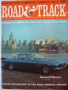 Toronado,Siver Shadow,VW 1600,Road and Track magazine January 1966