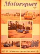 Sept. 1952 Motor races and road tests