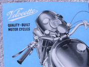 Velocette motorcycle  brochure catalog